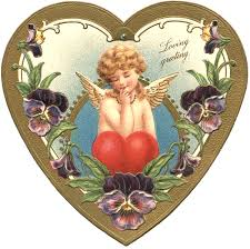 Valentines badge