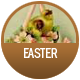 Easter badge