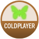 Coldplay badge
