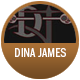Dina James Teas badge