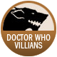Doctor Who Villains badge