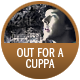 Sherlock Is Out For A Cuppa badge