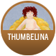 Thumbelina badge