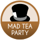 Alice In Wonderland badge