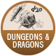 Dungeons And Dragons badge
