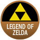 The Legend Of Zelda badge