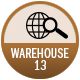 Warehouse 13 badge