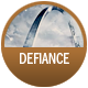Defiance badge