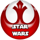 Star Wars badge