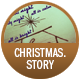 Christmas. Story badge