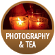 Photogtaphy And Tea badge