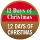 12 Days Of Christmas badge