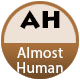 Almost Human badge