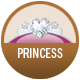 Disney Princess  badge