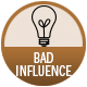 Bad Influence Blends badge