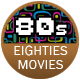 80s Movies badge