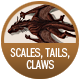 Scales, Tails, Claws,  badge