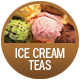 Ice Cream Teas badge