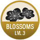 Blossoms badge