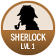 Sherlock badge