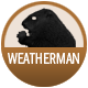 Weatherman badge