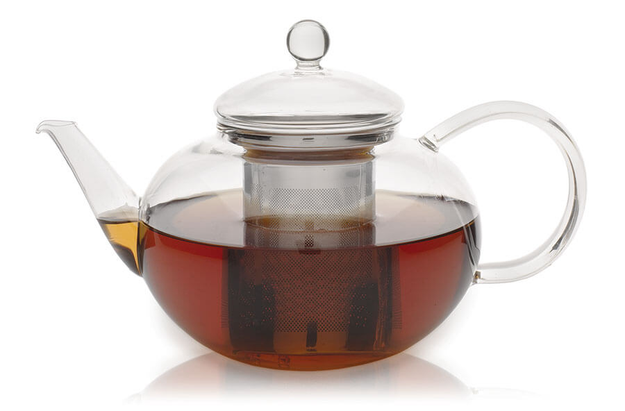 Glass Teapot From Adagio Teas