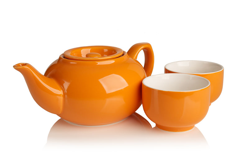 personaliTEA teapot (orange)