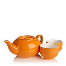 personaliTEA teapot orange