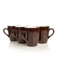 porcelain cups chocolate