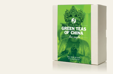 green teas of china set