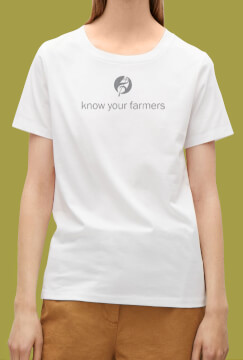 know your farmer tee shirt