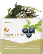 white blueberry portions