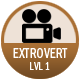 Extrovert badge