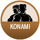 Konami badge