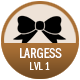 Largess badge