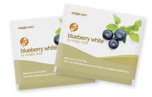 blueberry white teabags
