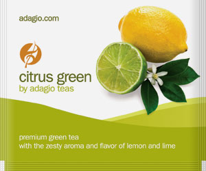 citrus green teabags