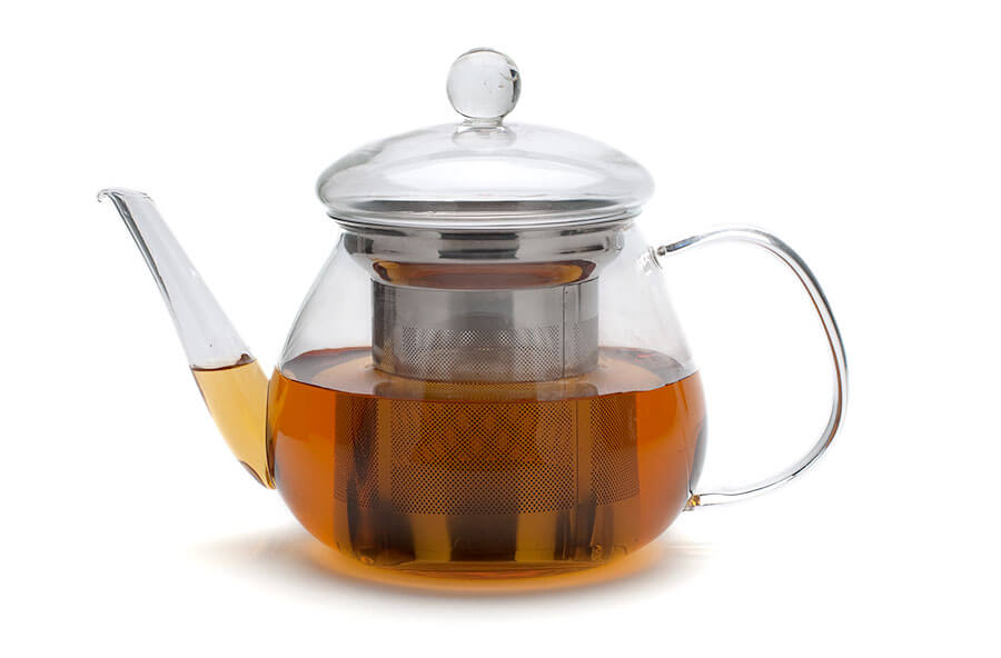 Petit Glass Teapot From Adagio Teas